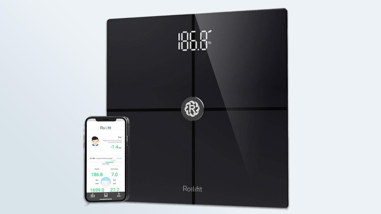 Melhores escalas inteligentes: RolliBot Rollifit F8