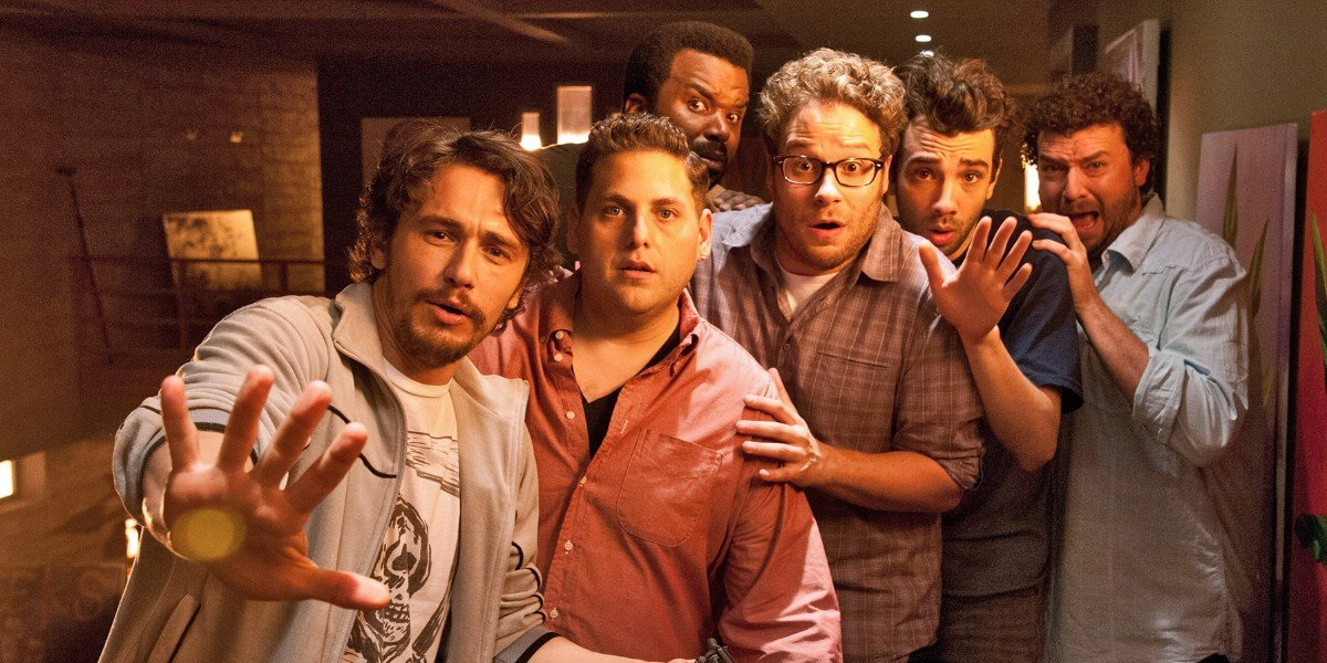 James Franco, Jonah Hill, Craig Robinson, Seth Rogen, Jay Baruchel, Danny McBride - This is the End
