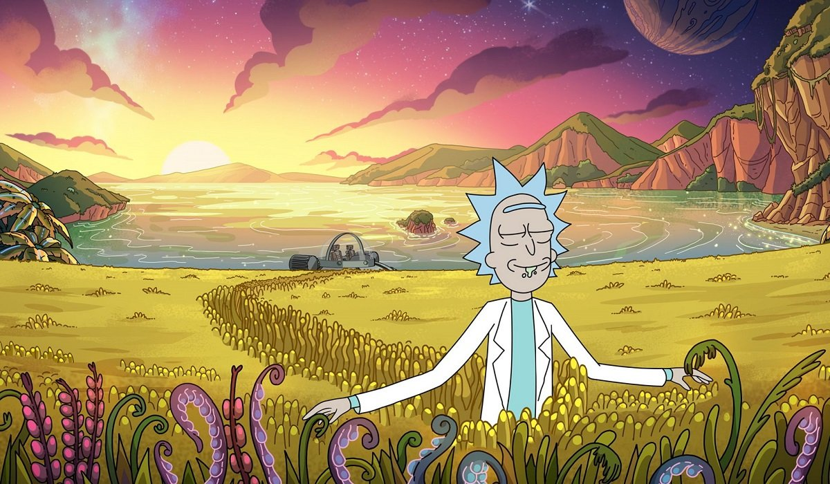 Rick and Morty Adult Swim