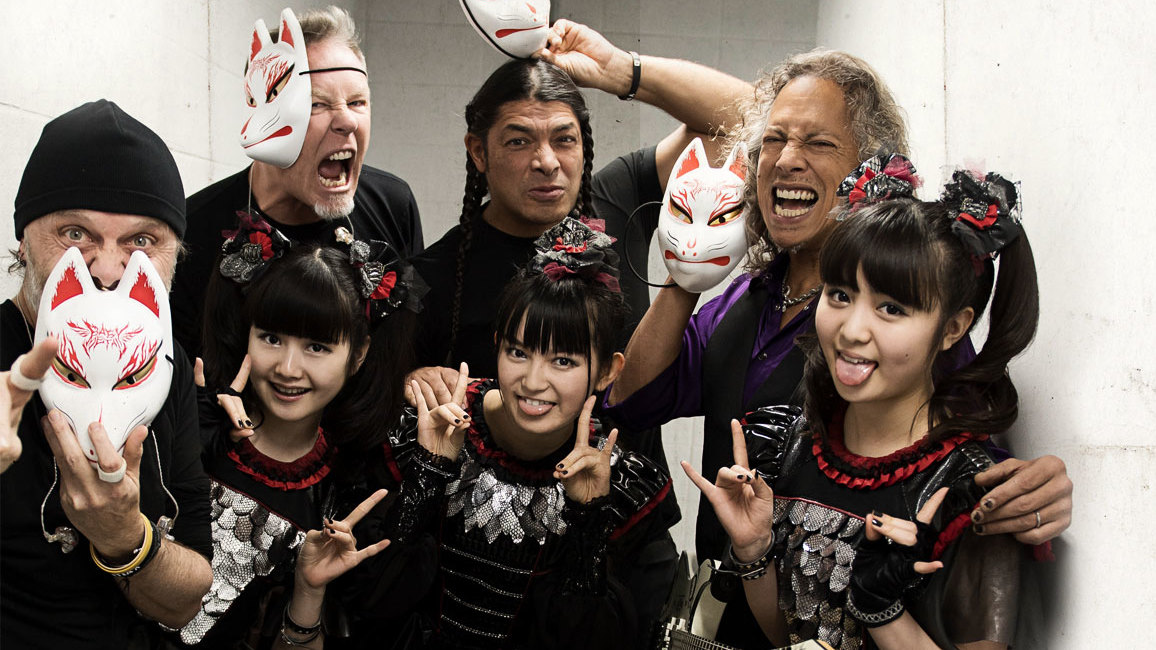 What happened when babymetal went head to head with metallica in what happened when babymetal went head to head with metallica in seoul louder m4hsunfo