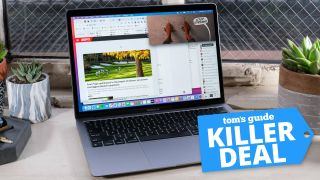 an image representing a MacBook Air M1 deal