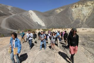 Bonaccorsi Explains the History of Ubehebe Crater