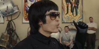 Mike Moh as Bruce Lee in Once Upon a Time in Hollywood