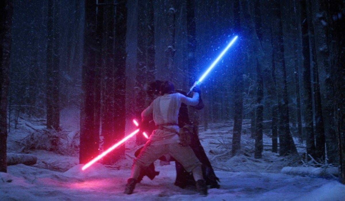 Rey and Kylo Ren Star Wars