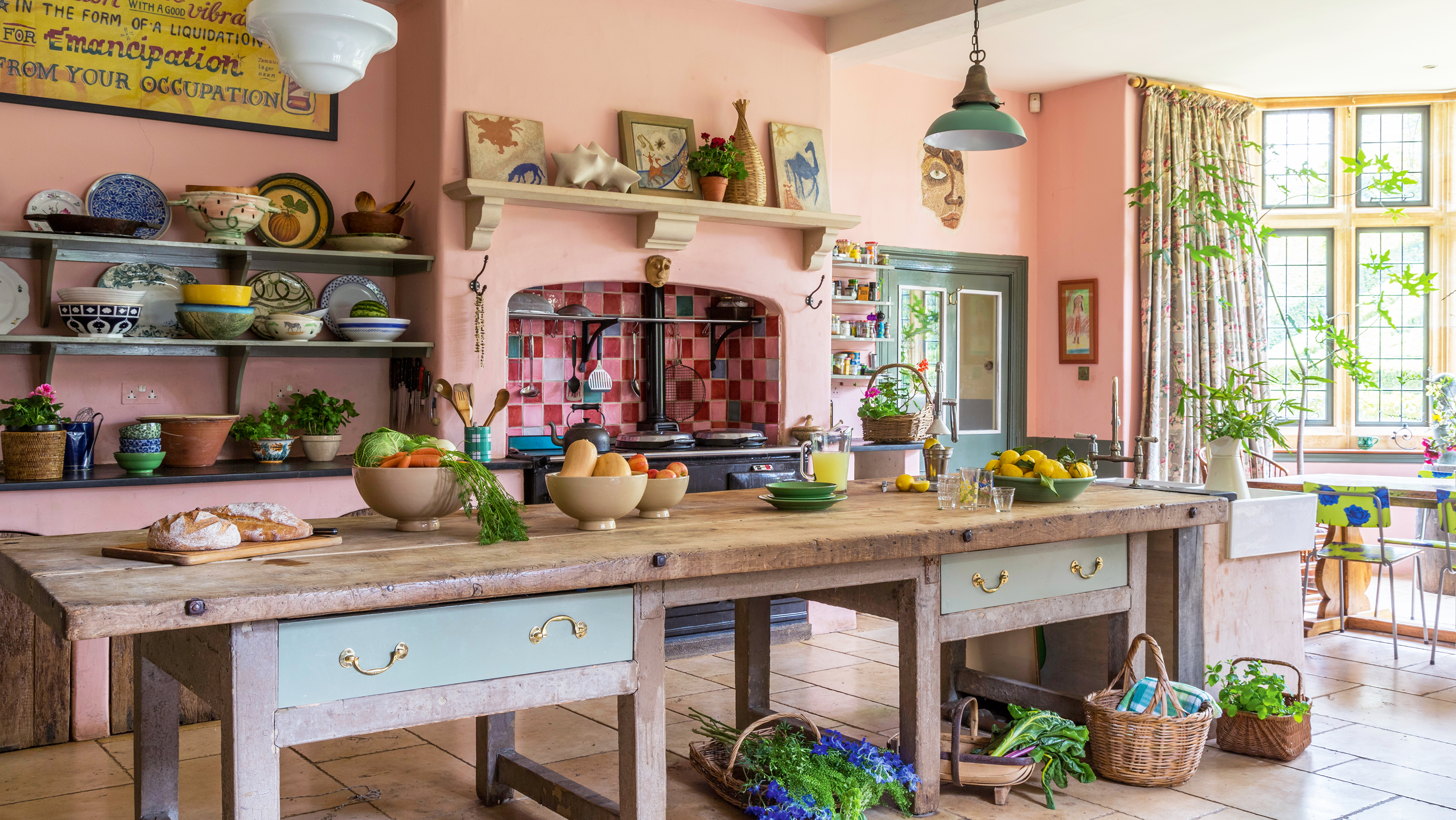 14 Incredibly Colourful Period Homes Real Homes
