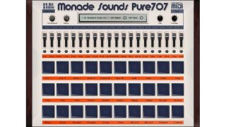 monade sounds pure707 plugin offers clean and resampled tr drum machine sounds musicradar. Black Bedroom Furniture Sets. Home Design Ideas