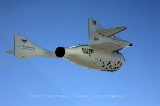 Now Boarding! SpaceShipOne Paves Way for Passengers?