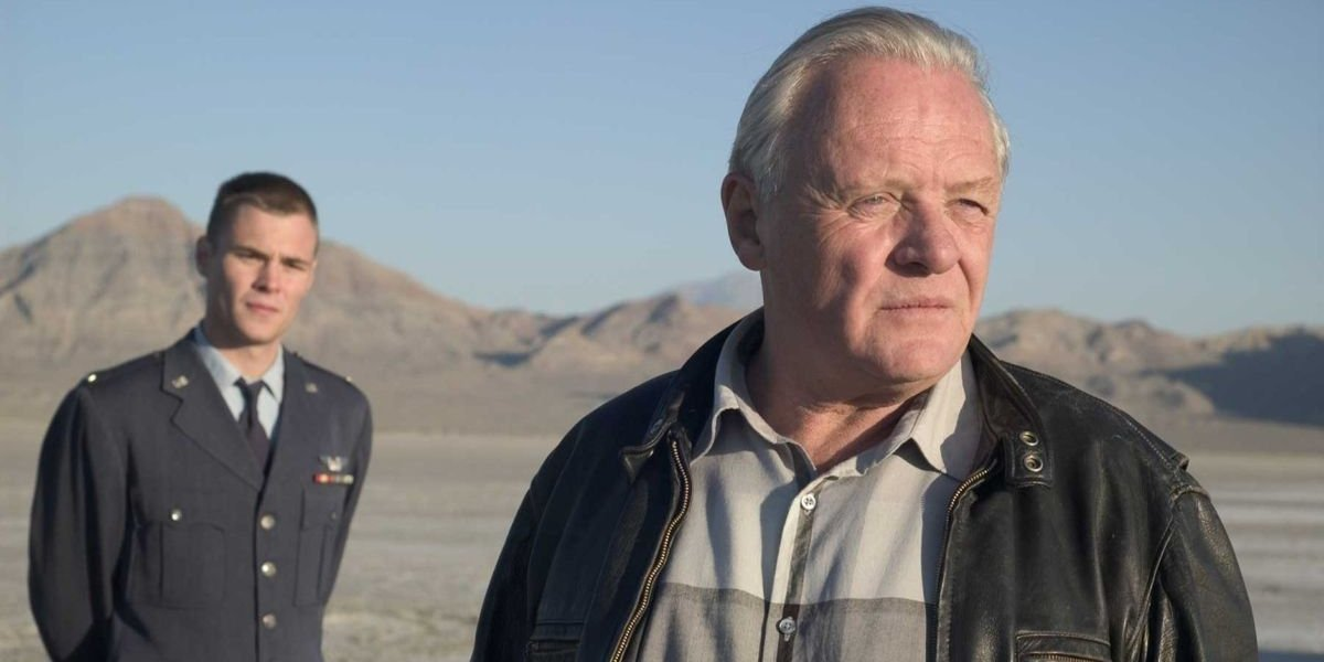 Antony Starr and Anthony Hopkins in The World's Fastest Indian