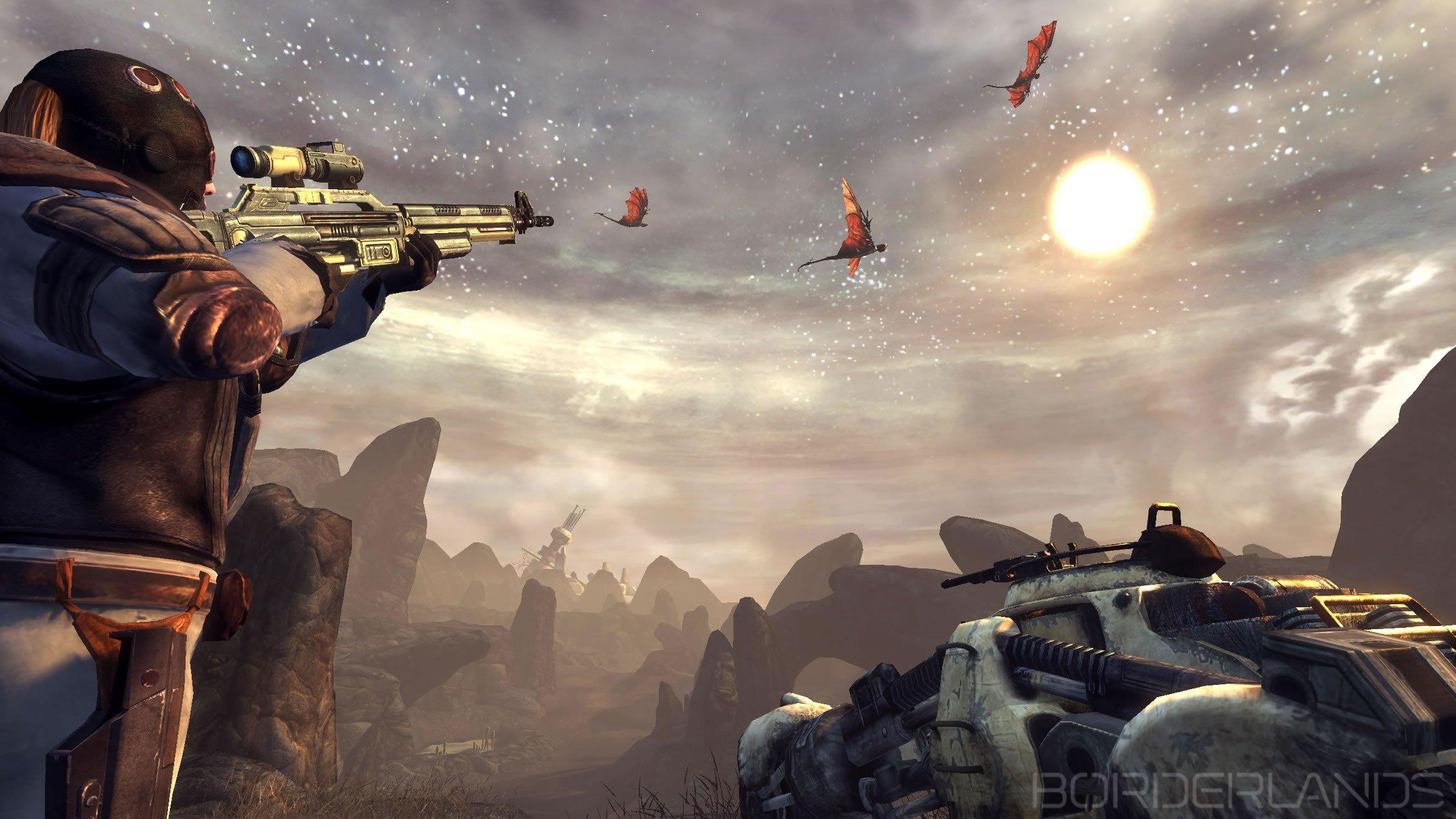 Fallout 3 And Borderlands Screenshot Comparison #4163