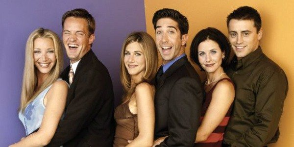 The Friends cast in their prime