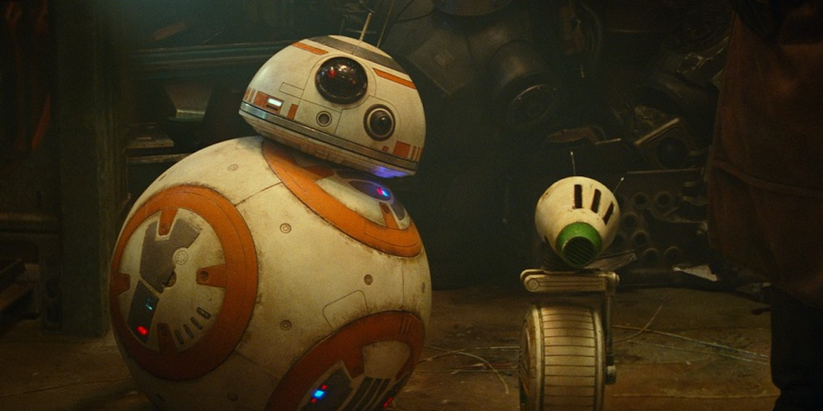 BB-8 and D-O droids in Star Wars: Rise of Skywalker