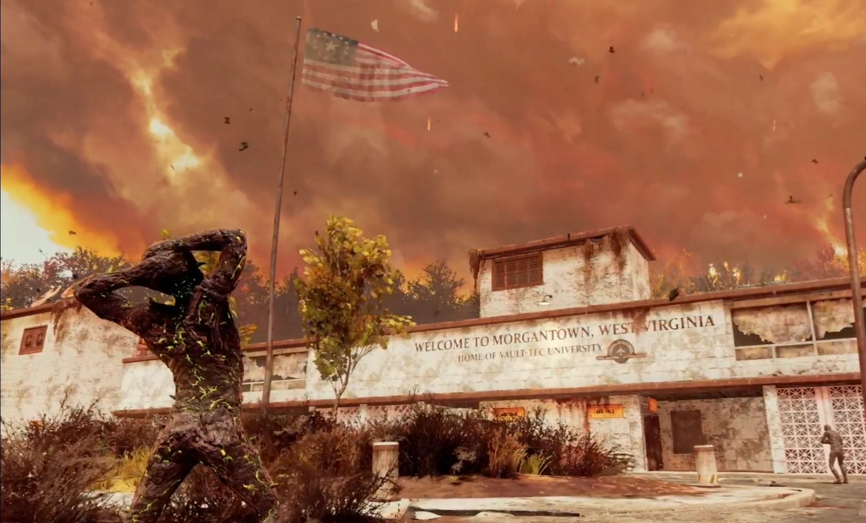 Morgantown map coming in September for Fallout 76 Nuclear Winter