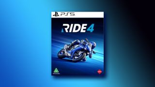 A photo of the PS5, Ride 4 game cover.