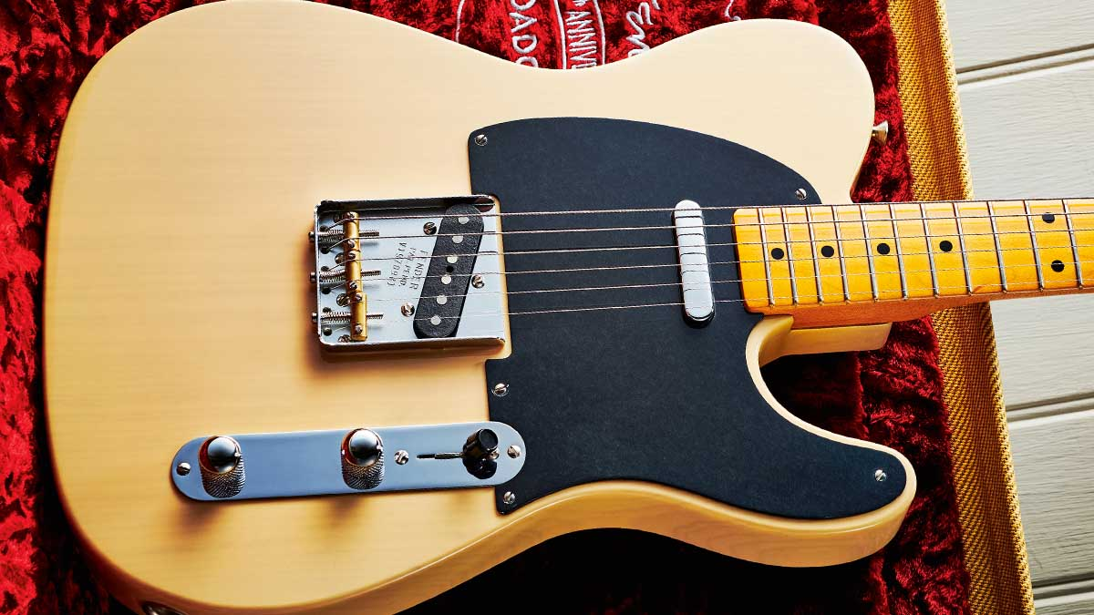 Fender 70th Anniversary Broadcaster review