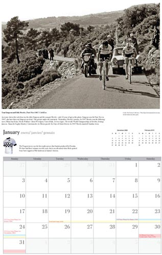 Prendas Ciclismo 2010 calendar