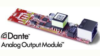 Audinate Ships Dante Analog Output Module
