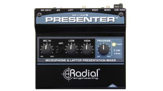Radial Introduces Presenter Compact Mixer