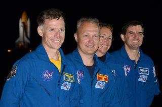Shuttle Atlantis' final crew