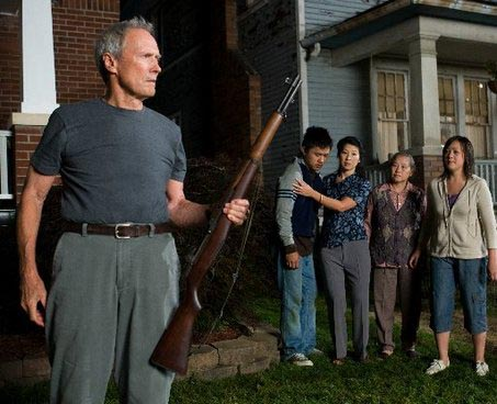 Gran Torino - Clint Eastwood's bigoted widower becomes his Asian neighbours' unexpected champion