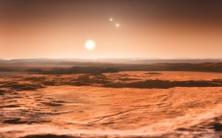 Illustration Exoplanet Gliese 667Cd