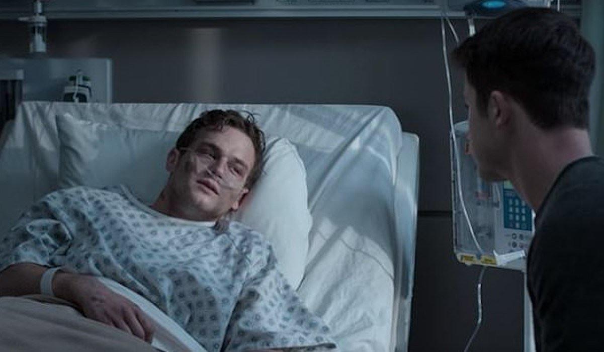 Justin Foley death scene, 13 Reasons Why