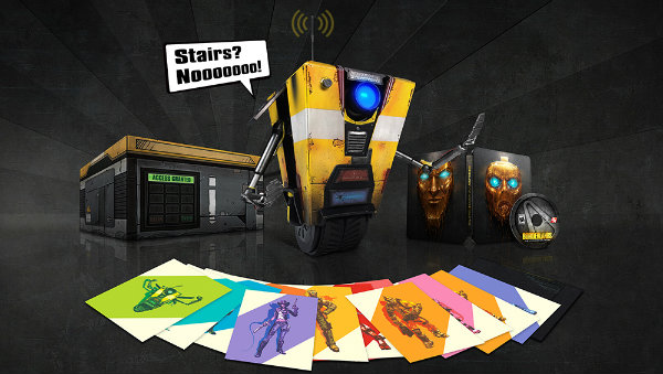 Claptrap Edition of Borderlands: The Handsome Collection