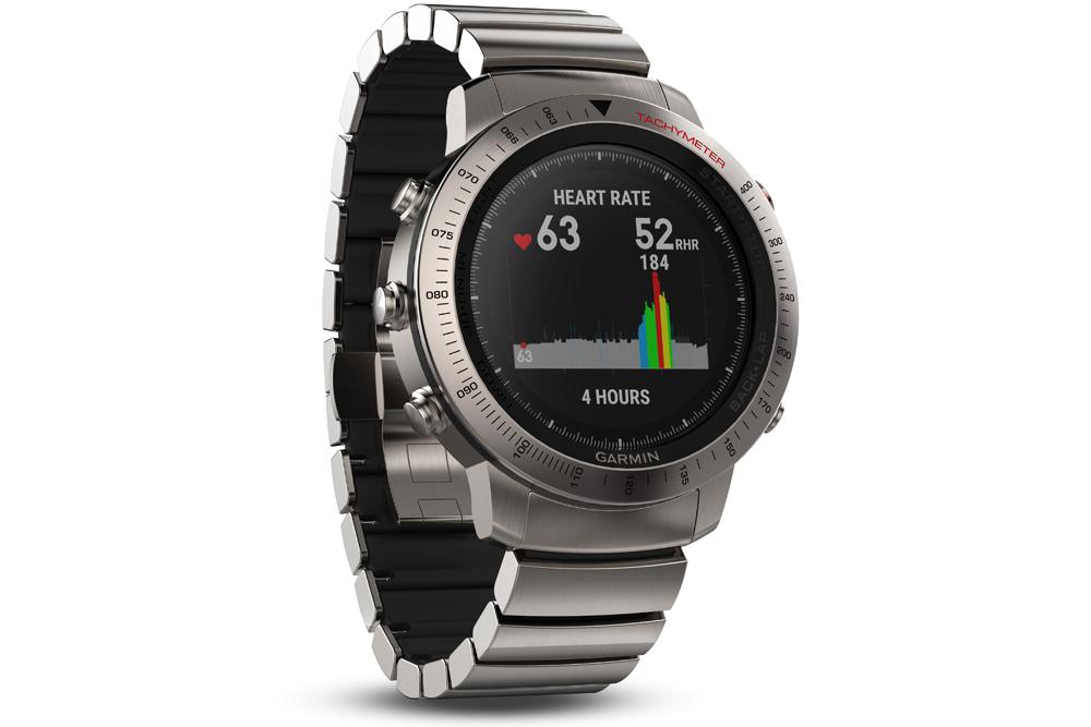 garmin fenix chronos watch heart rate