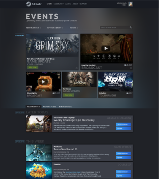 Steam is adding a new Events page for tracking what's going on in your games | PC Gamer