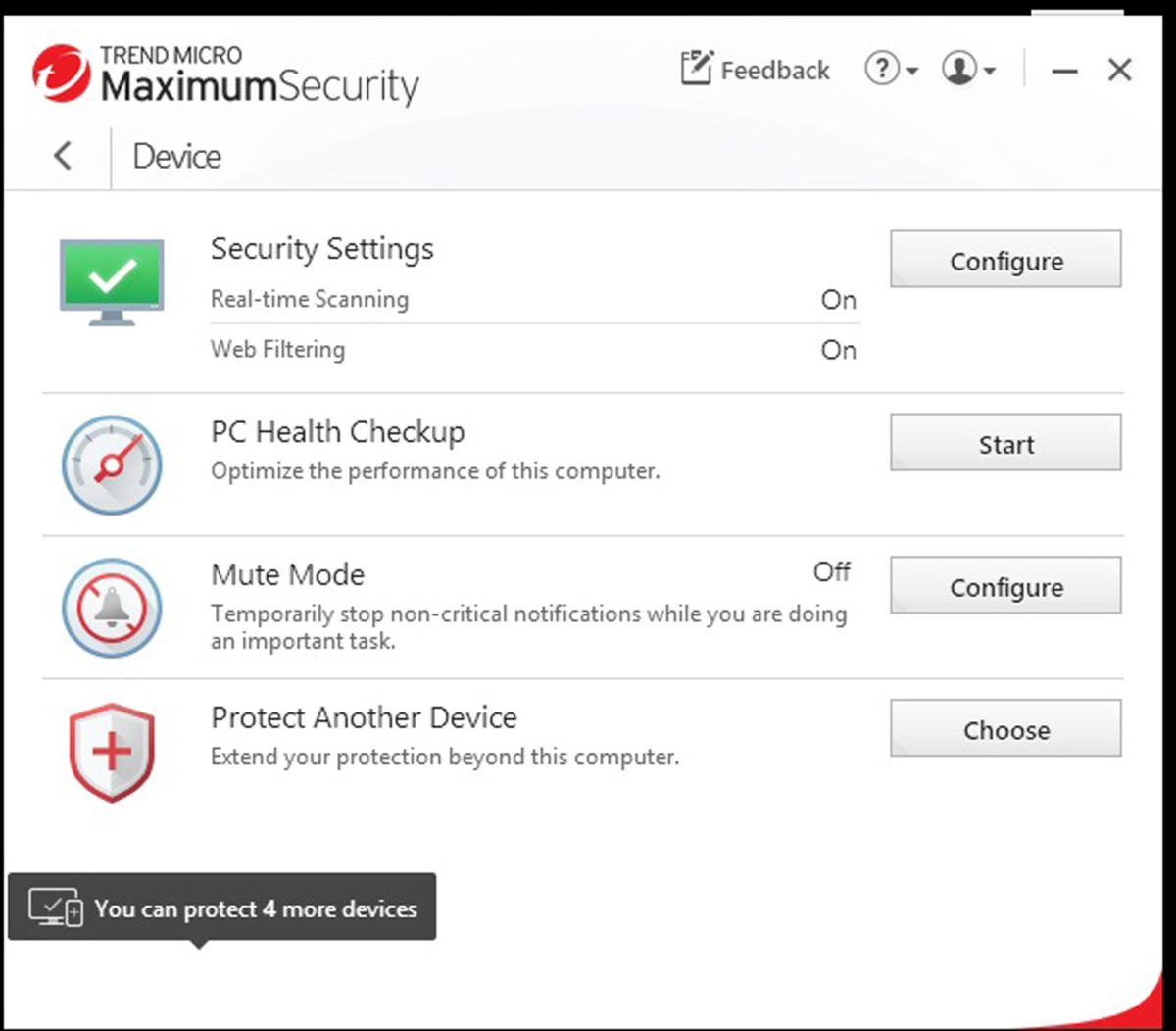 Trend micro security agent is loading