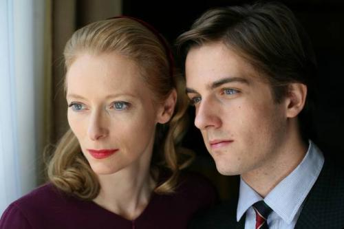 I Am Love - Tilda Swinton plays Emma Recchi and Flavio Parenti her son Edo in Luca Guadagnino's Italian melodrama