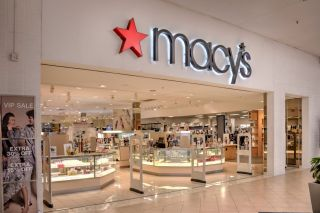 A Macy's store front at a shopping mall in Springfield, Missouri.
