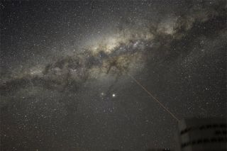 galactic center, space, universe