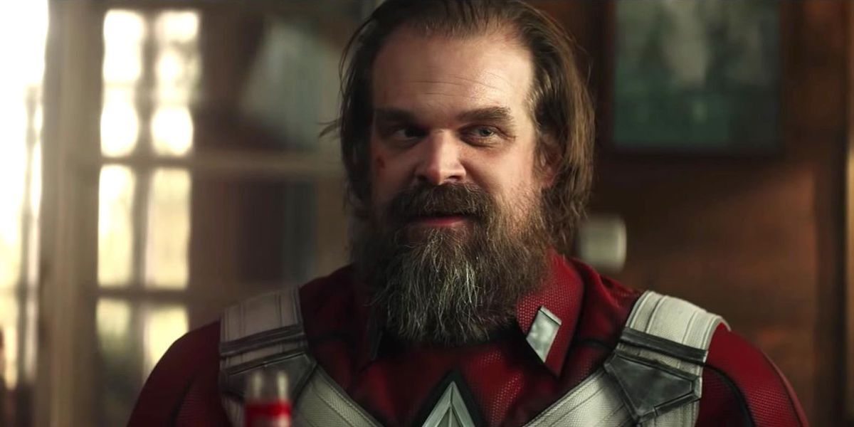 Black Widow's David Harbour Looks Kinda Scary In New Photo Of Red Guardian