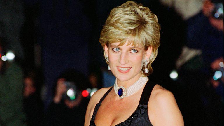 Princess Diana's hairstyle