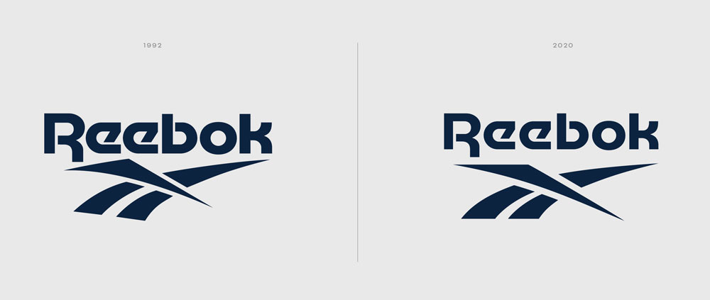 Reebok unifies its brand with a subtle logo tweak | Creative Bloq