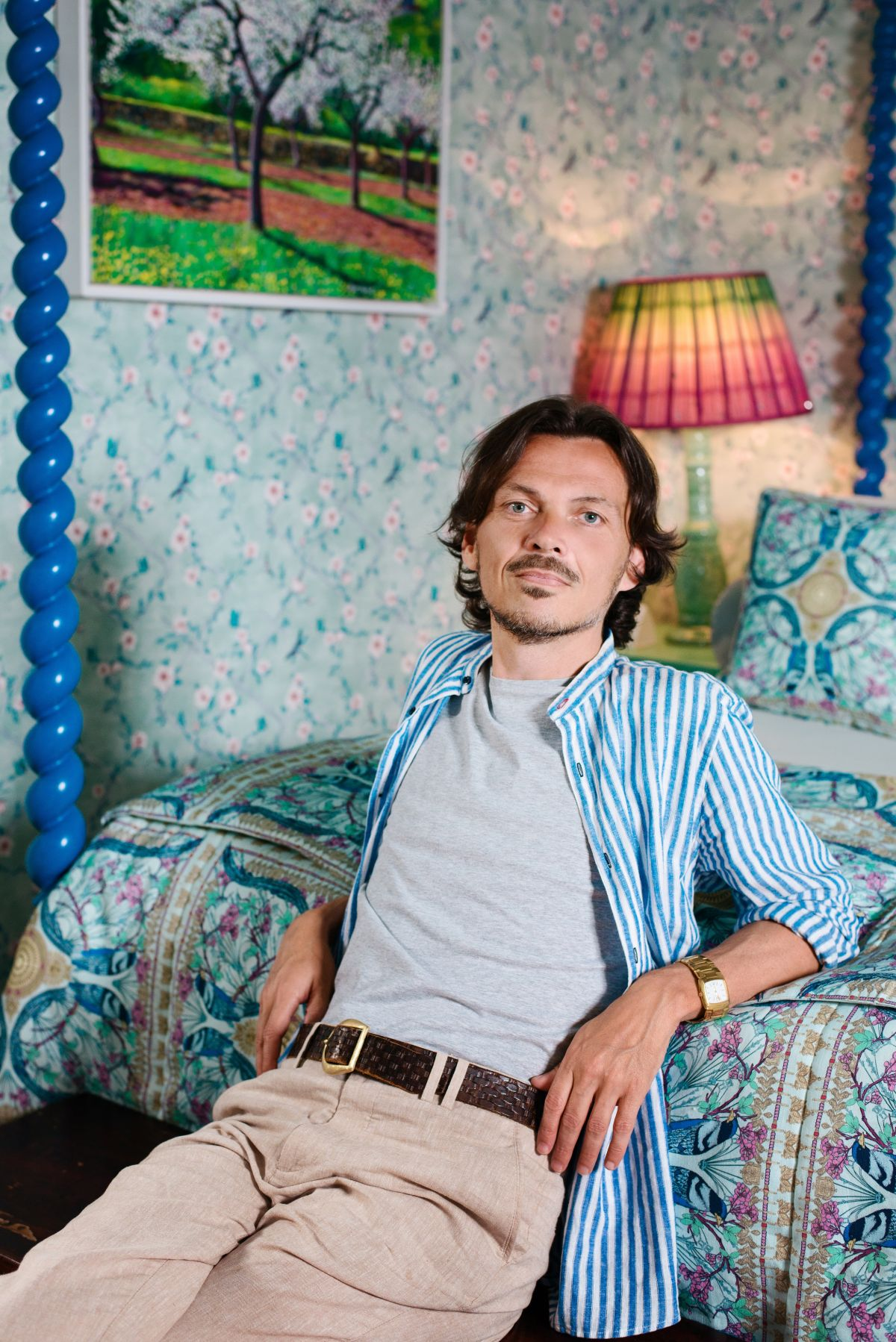 Matthew Williamson shares his interior design tips and secrets with H&G