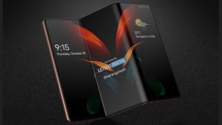 Samsung Galaxy Z Fold double folding smartphone