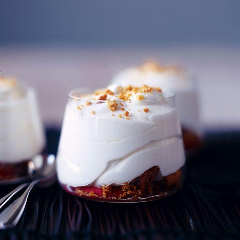 Lemon Syllabub with Peaches and Amaretti recipe-recipe ideas-new recipes-woman and home