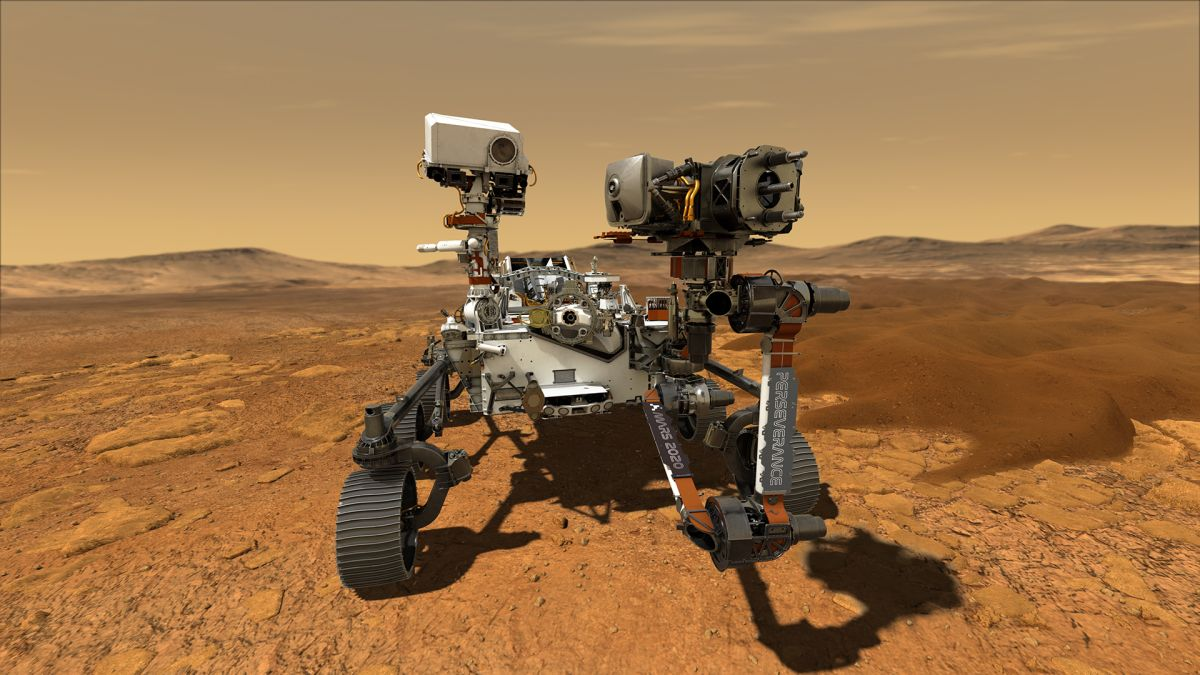 In photos: NASA's Mars Perseverance rover mission to the Red Planet