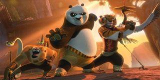 Kung Fu Panda attraction at Hollywood Studios