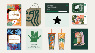 Starbucks microsite screenshot