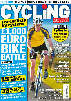 Cycling Active July 2011 cover