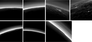 Possible Pluto clouds