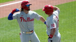 Bryce Harper and J.T. Realmuto, Philadelphia Phillies