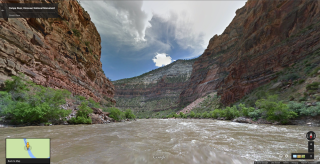 Google Maps Street View of Yampa River, Dinosaur National Monument, CO 2