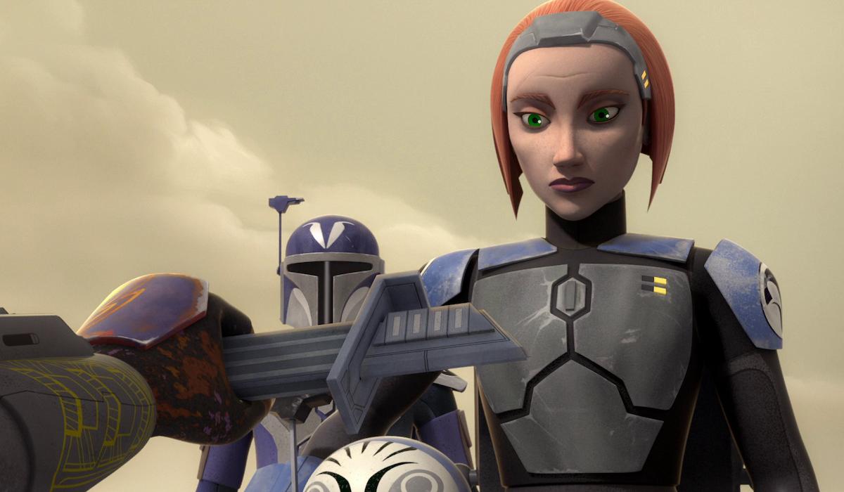 Bo-Katan Kryze in Star Wars: Rebels