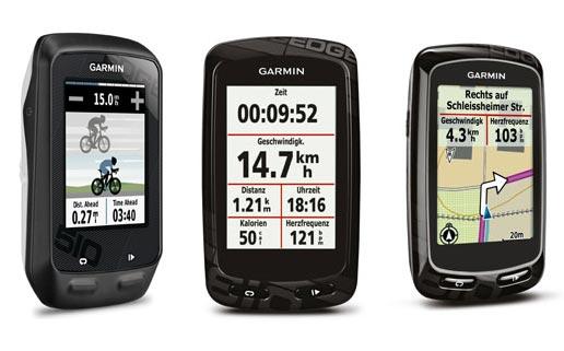 New Garmin Edge 810 And 510 Gps Bike Computers Cycling