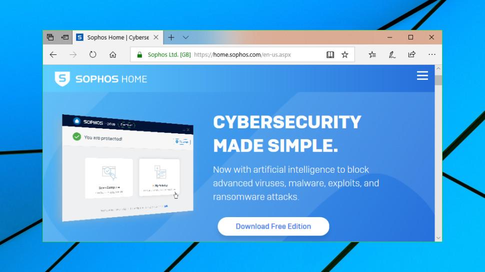 Sophos Home Free review   TechRadar