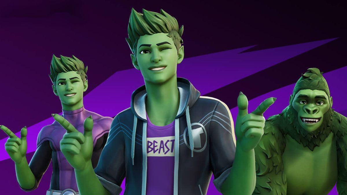 Teen Titans' Beast Boy joins Fortnite as a new skin