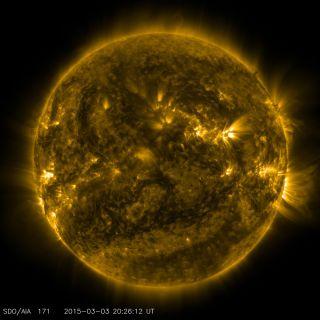 SDO View of the Sun March 3, 2015